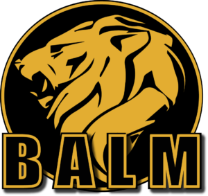 BALM logo color lion gold & Black final